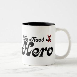 Necesitamos la taza de café justa de la serie del