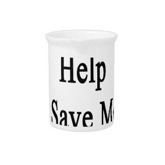 Necesitamos su ayuda ahorrar más pandas jarrón