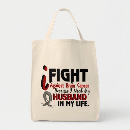 Necesite a mi cáncer de cerebro del marido bolsas de mano