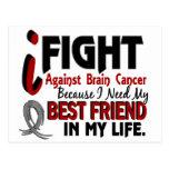 Necesite a mi cáncer de cerebro del mejor amigo postal