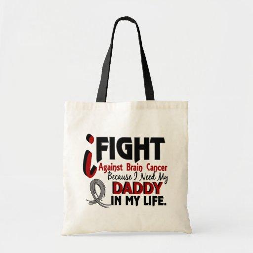 Necesite a mi cáncer de cerebro del papá bolsa de mano