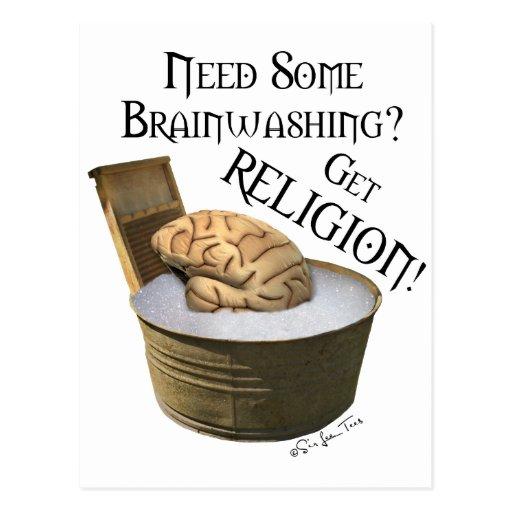 ¿Necesite cierto lavar el cerebro? Tarjeta Postal