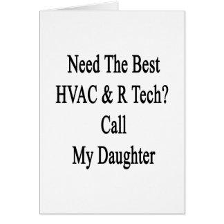 Necesite la mejor llamada de la tecnología de la tarjeta de felicitación