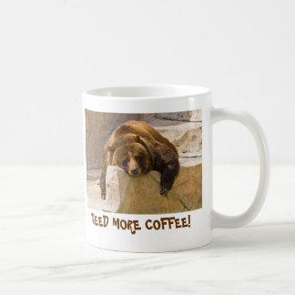 ¡NECESITE MÁS CAFÉ! TAZAS