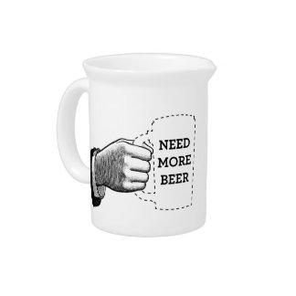 Necesite más jarras de la cerveza