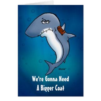 Necesite un espacio en blanco más grande del tibur tarjeta