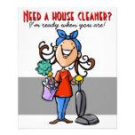 ¿Necesite un limpiador de la casa? Aviador de enca