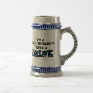 Necesite una bebida - ingeniero informático taza de café