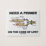 ¿Necesite una cartilla en el código de la vida? Puzzles