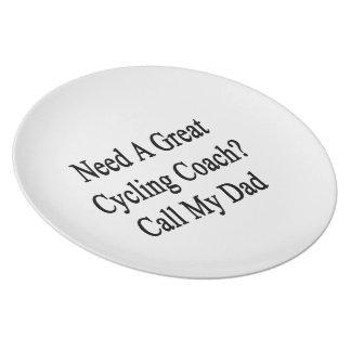 Necesite una gran llamada de ciclo del coche mi plato
