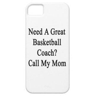 Necesite una gran llamada del entrenador de iPhone 5 funda