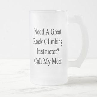 Necesite una gran llamada del instructor de la tazas