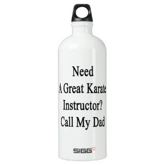 Necesite una gran llamada del instructor del