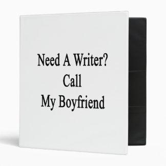 """Necesite una llamada del escritor mi novio carpeta 1"""""""