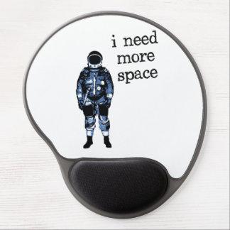 Necesito a más astronauta del espacio alfombrillas con gel