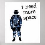 Necesito a más astronauta del espacio impresiones
