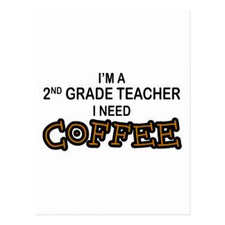 Necesito el café - 2do grado postal