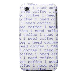 Necesito el café, caso de Iphone 4 de los amantes iPhone 3 Cobertura