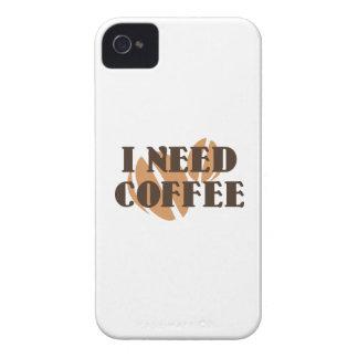 Necesito el café iPhone 4 carcasa
