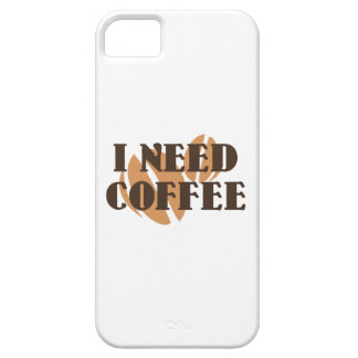 Necesito el café iPhone 5 fundas