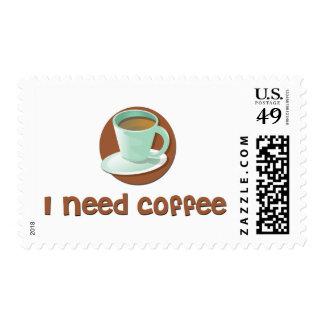 Necesito el café sellos