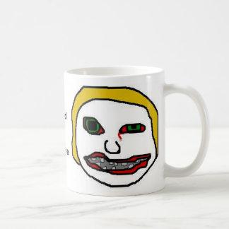 Necesito el café tazas