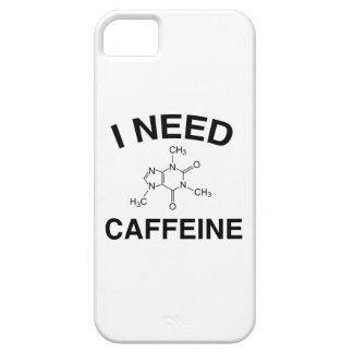 Necesito el cafeína iPhone 5 cárcasa