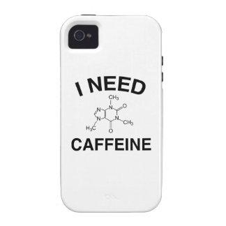 Necesito el cafeína iPhone 4 carcasa