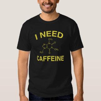Necesito el cafeína polera