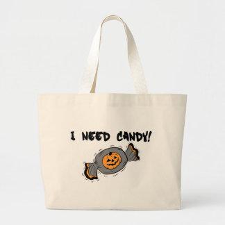 Necesito el caramelo bolsas de mano