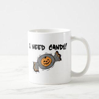 Necesito el caramelo taza de café