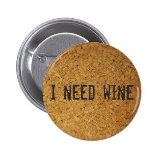 Necesito el vino pin redondo 5 cm