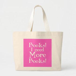 Necesito la más bolsa de asas de la biblioteca de