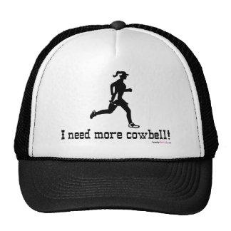 Necesito más cencerro - funcionamiento de la mujer gorras