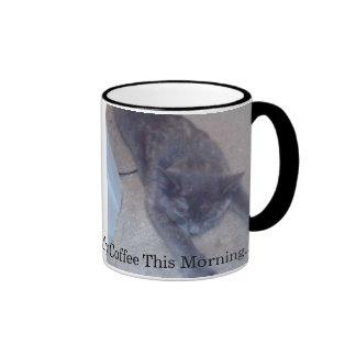 Necesito mi café esta mañana. -… - Modificado para Taza De Dos Colores
