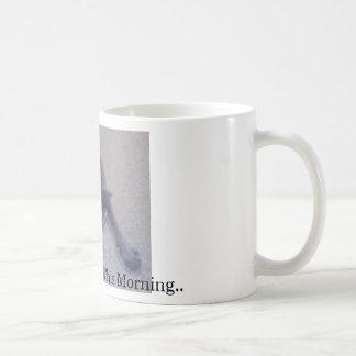 Necesito mi café esta mañana. - Taza de café