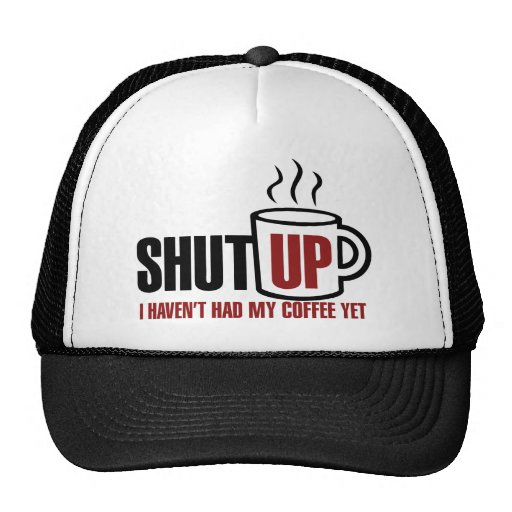 Necesito mi café gorras
