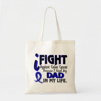 Necesito mi cáncer de colon del papá bolsa tela barata