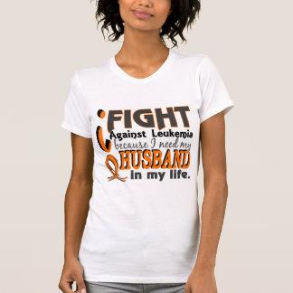 Necesito mi leucemia del marido camiseta