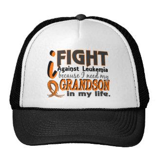 Necesito mi leucemia del nieto gorros bordados