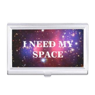 Necesito mi tenedor de la tarjeta de visita del cajas de tarjetas de presentación