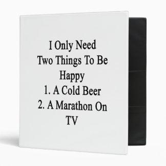 Necesito solamente dos cosas ser 1 feliz a la carpeta 2,5 cm