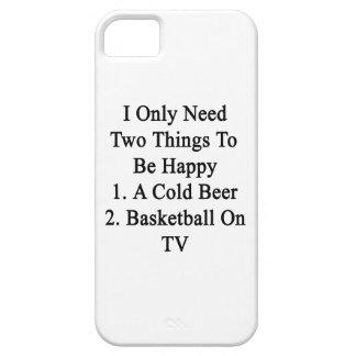 Necesito solamente dos cosas ser 1 feliz a la iPhone 5 funda