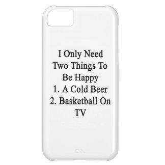 Necesito solamente dos cosas ser 1 feliz a la funda para iPhone 5C