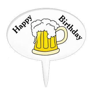 Necesito un cumpleaños de la cerveza decoraciones de tartas
