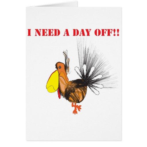 Necesito un día off.ai tarjetas