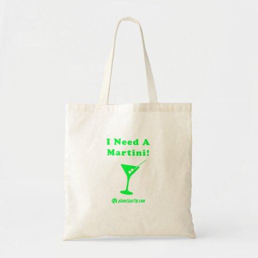 ¡Necesito un Martini! Bolsas De Mano