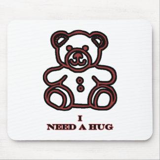 Necesito un oso Brown 2 del abrazo los regalos de  Alfombrillas De Ratón