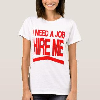 Necesito un trabajo playera