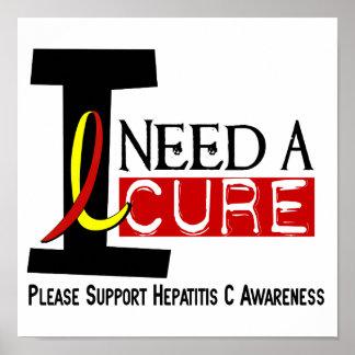 Necesito una hepatitis C de la curación 1 Poster